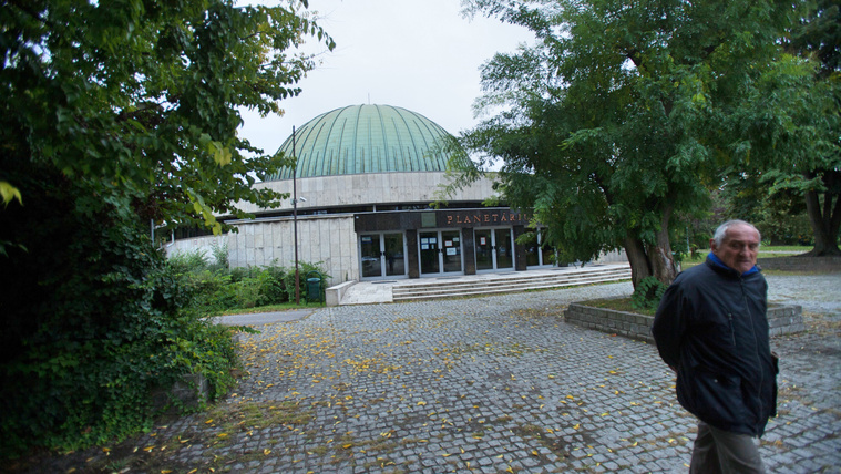 A budapesti planetáriumban a víz az úr