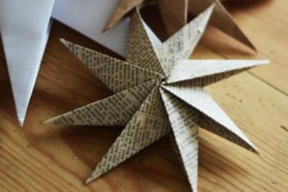csillag papirbol kicsi
