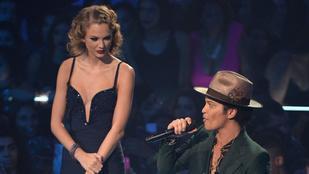 Bárcsak megismétlődne Bruno Mars és Taylor Swift nagy pillanata