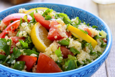 kuszkusz salata