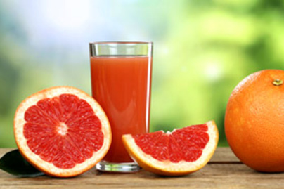 grapefruitle pohar lead
