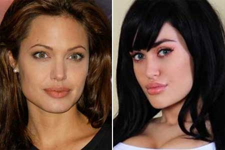 Angelina Jolie Violet Eroti