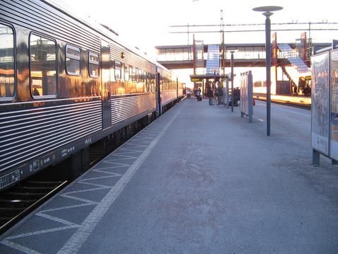 Nåttag vonat
