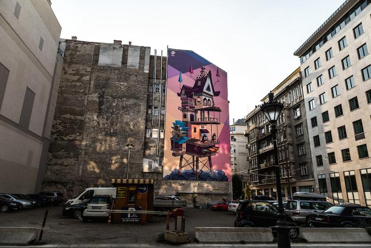 """Fat Heat @ Pántya Bea: """"Élő tér"""" - Arany János utca - Sas utca sarka"""