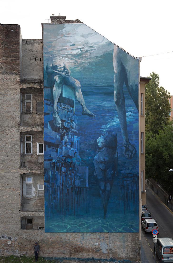 "Sepe & Chazme (POL): ""Blue in Green"" - Lenhossék utca 43."