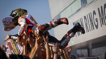 Így lett Márquez ötödjére világbajnok