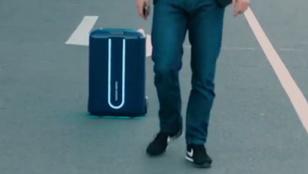 Megérkezett minden utazó álma: itt az önjáró bőrönd!