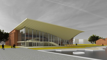 A Millenárison épül az új Nemzeti Táncszínház
