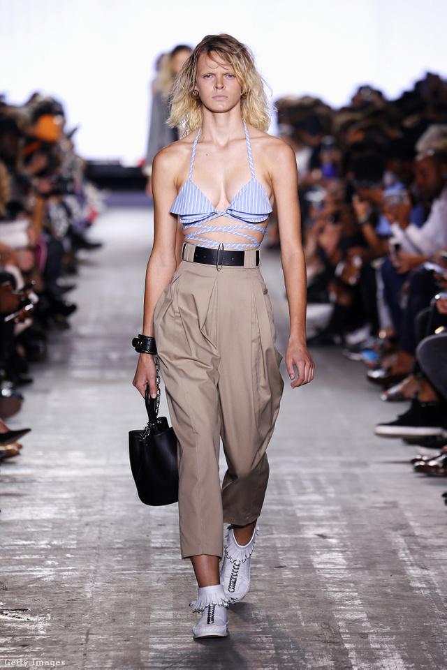 Kék-fehér csíkos bikiniben járunk majd Alexander Wang szerint.