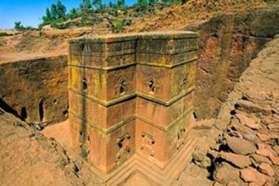 templom lalibela