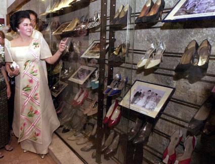 imelda marcos shoe museum 100909 ap m-1