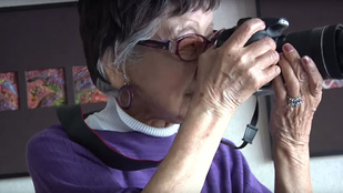 101 évesen is alkot Japán első női fotóriportere