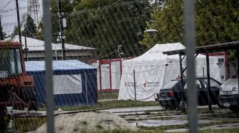 Abcúg: Megfagynak a körmendi sátortáborban a menekültek