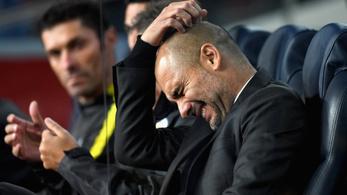 Guardiola: Volt már rosszabb is ennél a 0-4-nél