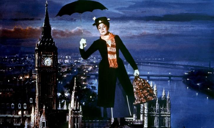 Képkocka az eredeti Mary Poppins filmből