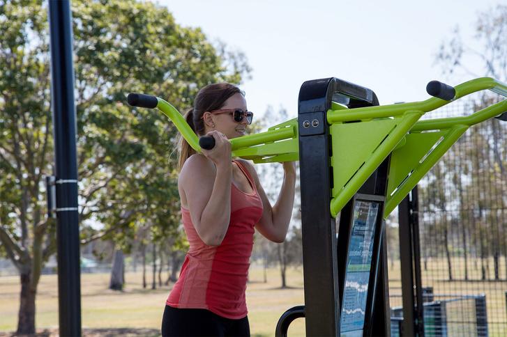 A kültéri fitneszgépek sem csak nyugdíjasoknak valók az edző szerint