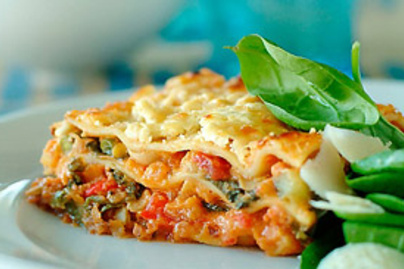 lasagne teszta