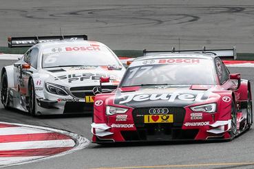 A DTM Audija és Mercedese