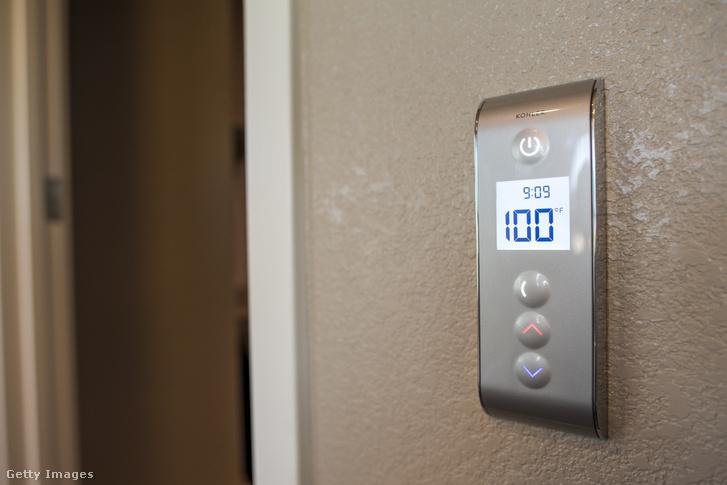 Kohler Co. Prompt Digital Shower Interface, azaz zuhanyvezérlő