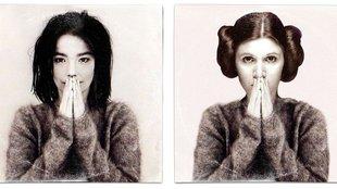 Így került Leia hercegnő egy Björk album borítójára