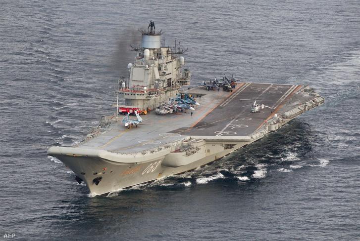 A Kuznyecov hadihajó