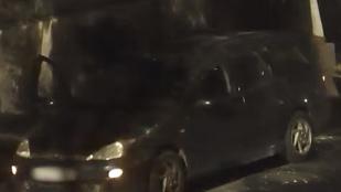 Ezért rossz ötlet térfigyelő kamera előtt autókat feltörni