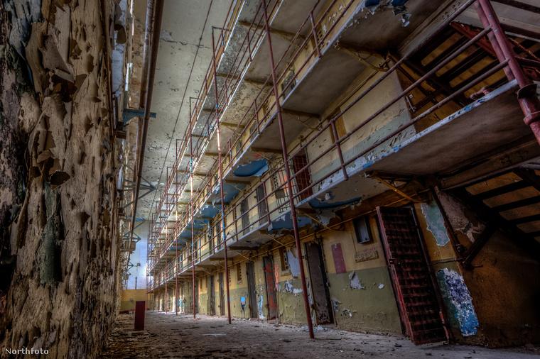 Jeff Hagerman fotós kereste fel az egykori Tennessee Állami Börtön elhagyatott épületeit