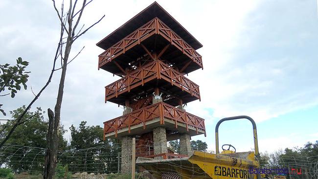 Novemberben nyílik Tihany római őrtorony kilátója