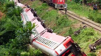 53 halott és 300 sebesült egy kameruni vonatbalesetben