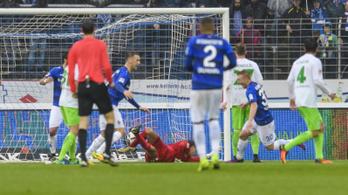 Bombagólból van meg Kleinheisler első Bundesliga-gólja