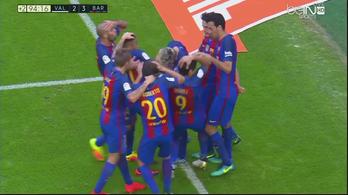 Szemétzápor zúdult az utolsó pillanatban nyerő Barcelonára