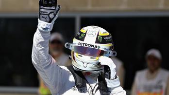 Hihetetlen pályacsúccsal verte Hamilton Rosberget