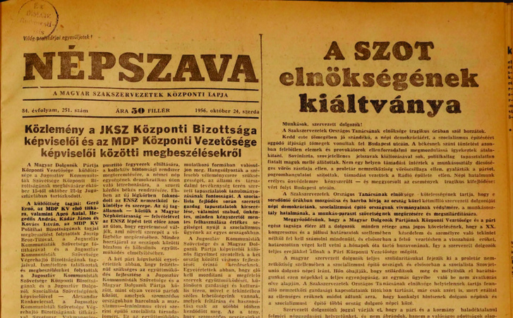Nepszava 1956 10  pages126-126