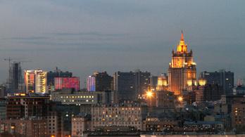 Meghekkelték az orosz külügyminisztériumot