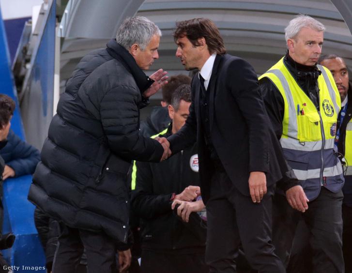 Mourinho és Conte parolája