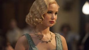 Jennifer Lawrence-nek jól állnak a majd a '20-as évek