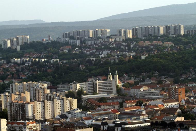 A miskolci Avas lakótelepen történt az érdekes eset, október 19-én.