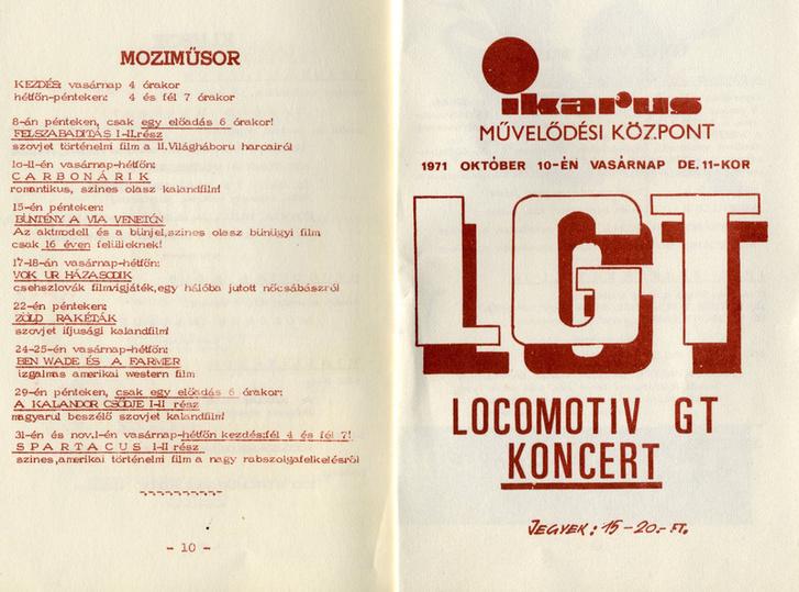 LGT-koncert, mai szemmel szokatlan kezdési időponttal