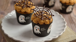 Bulikaja! Pókhálós tortácskák Halloweenre