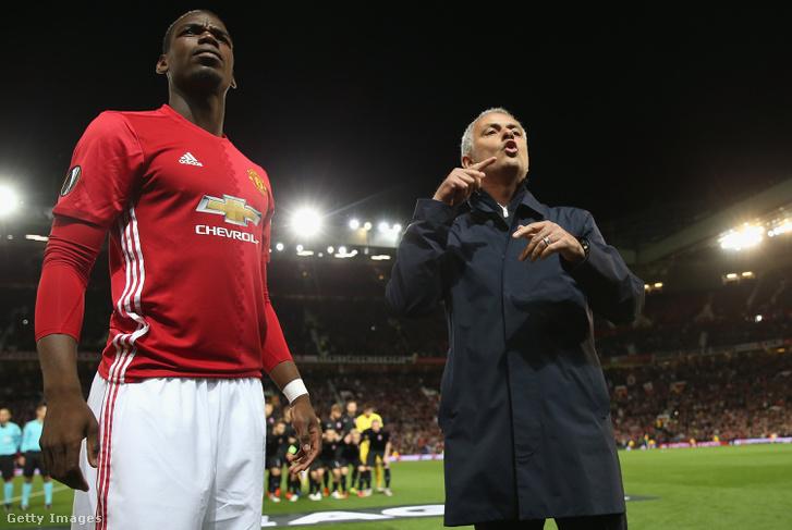 Pogba és Mourinho