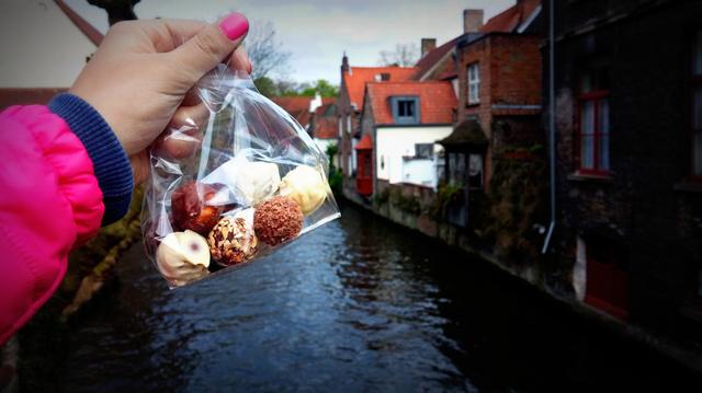 Bruges és a mennyei belga csoki
