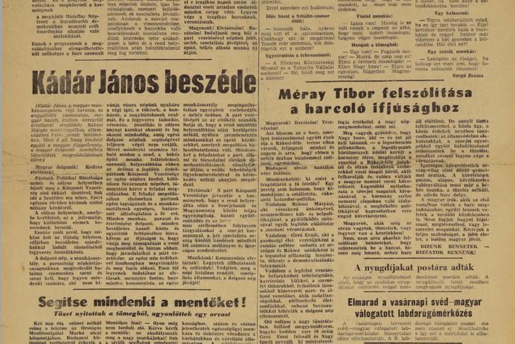 Nepszava 1956 10  pages137-137