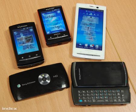 Top 5 a Sony Ericssontól