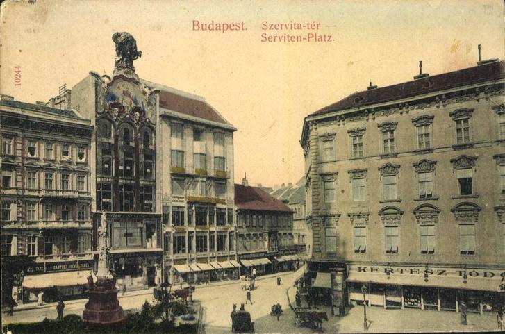1910k Torok Bankhaz kepeslap