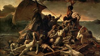 Igazi holttestek voltak a Medúza tutaja modelljei
