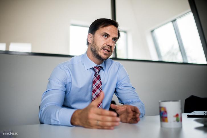 Árendás Gergely, a Property Market ügyvezető igazgatója