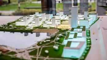 Milyen lesz Budapest új városnegyede a 120 méteres felhőkarcolóval?