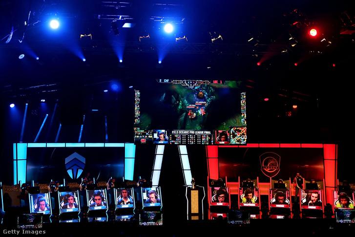 League of Legends Óceániai Döntő 2015-ben Ausztráliában.