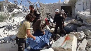 Kisiskolásokat bombáztak le Szíriában