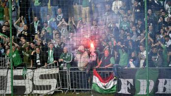 A Ferencváros-Újpest legnagyobb meccsét a parkolóban játsszák